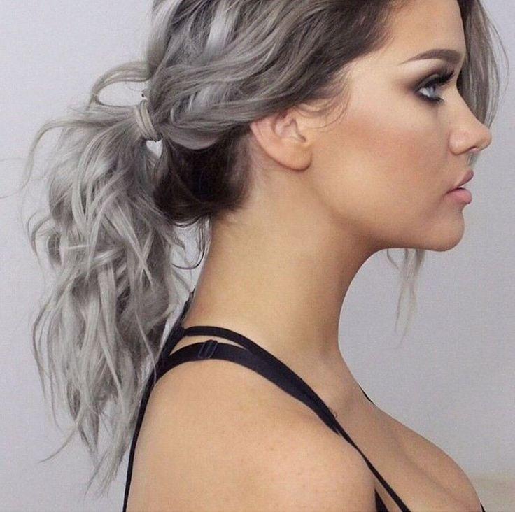 grå hårfarge - Google-søk
