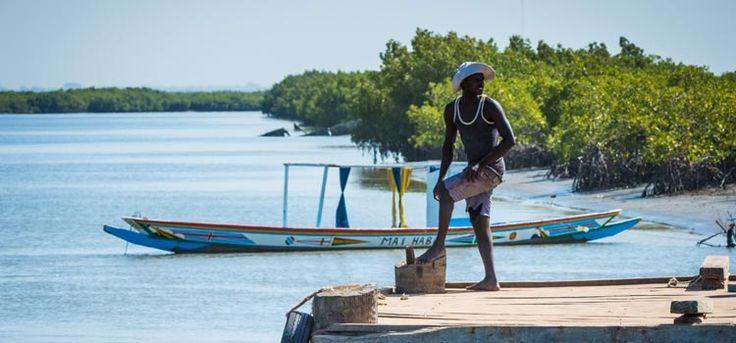 Gambia - atrakcje - Banjul - przewodnik turystyczny, plaże, rezerwat Abuko