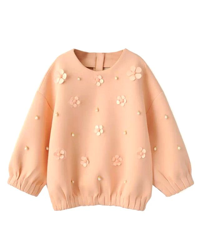 Loose Fit Bead Sweatshirt