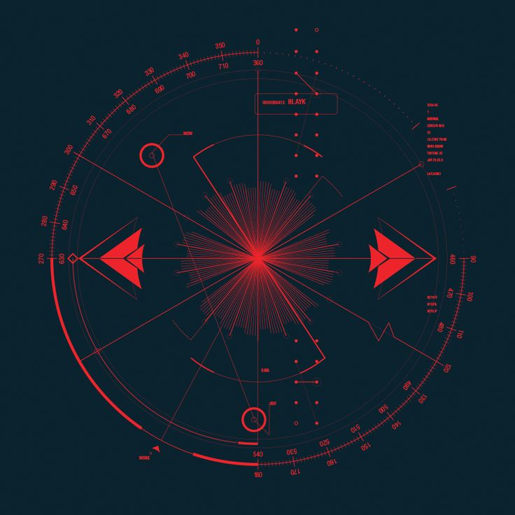 Radar UI Illustration by Andrew Pabon