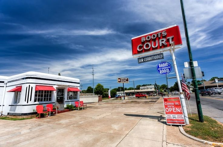 Boot Court Motel Missouri Route 66 road trip