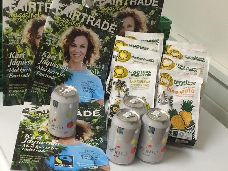 Fairtrade  Fås kjøpt hos Reint Logisk, økologisk dagligvarehandel inne hos Stornaustet Kultur og Næringsbygg 6680 Halsanaustan