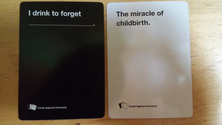 If Moms Played Cards Against Humanity, Because Really, Don't You Want To Spend Some Quality Time Together?
