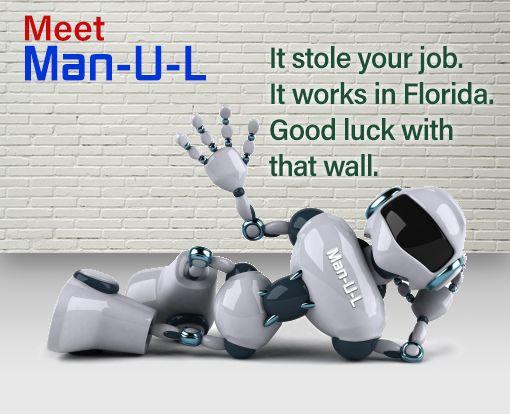 Will the #trumpwall help protect jobs?  Not according to Man-U-L.