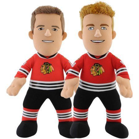 Chicago Blackhawks Dynamic Duo Bleacher Bundle, Toews Kane, Multicolor