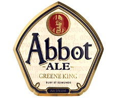 GREENE KINGS ABBOT ALE - brewed for quality of the highest order. Abbot is an irresistible ale with masses of fruit characters, a malty richness and superb hop balance. It is brewed longer to a unique recipe, which makes it the full-flavoured, smooth and mature beer it is today.