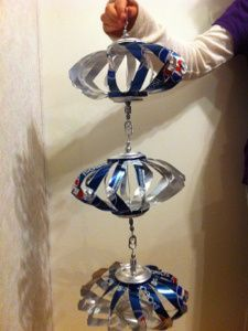 The Pop Can Wind Spinners I make
