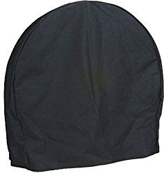 Sunndyaze Black Firewood Log Hoop Cover ONLY, 40 Inch