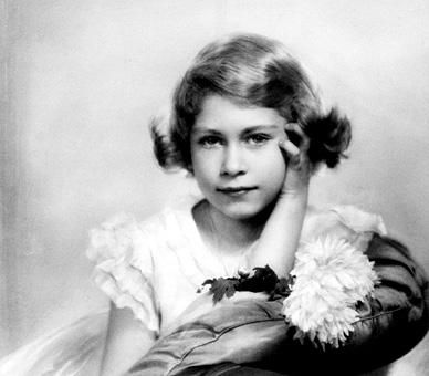 HRH as a wee girl.