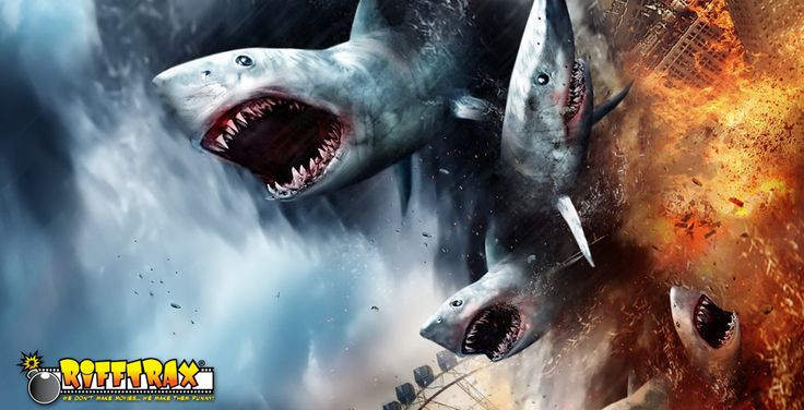 "Movie Review: ""Sharknado: Rifftrax Version"" Turns The Film Into An Instant Classic"