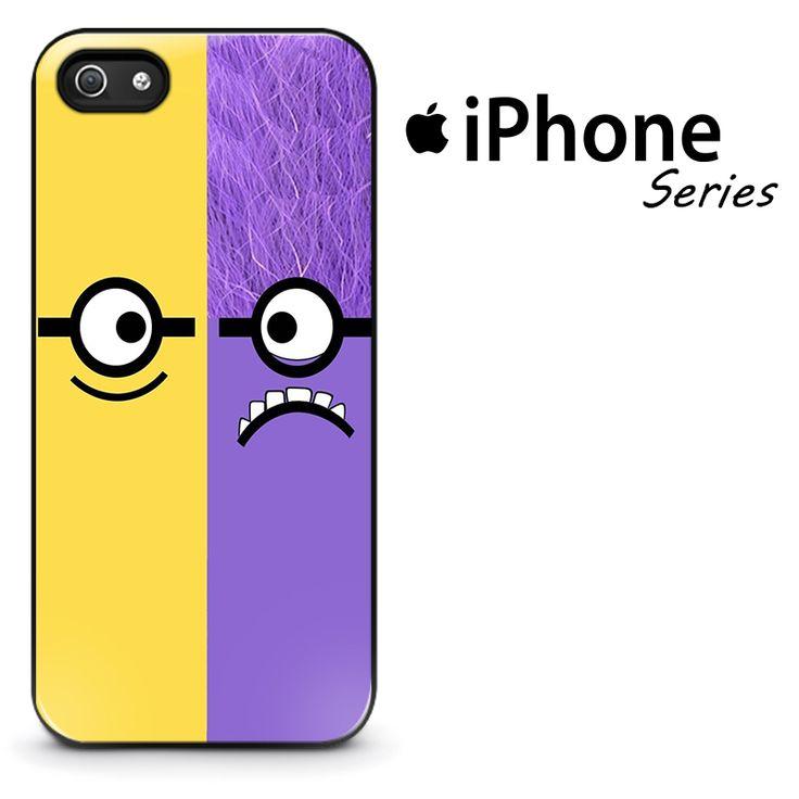 Minion Yellow And Purple Phone Case | Apple iPhone 4/4s 5/5s 5c 6 6 Plus Samsung Galaxy S3 S4 S5 S6 S6 Edge Samsung Galaxy Note 3 4 5 Hard Case  #AppleiPhoneCase #SamsungGalaxyCase #SamsungGalaxyNoteCase #Yuicase.com