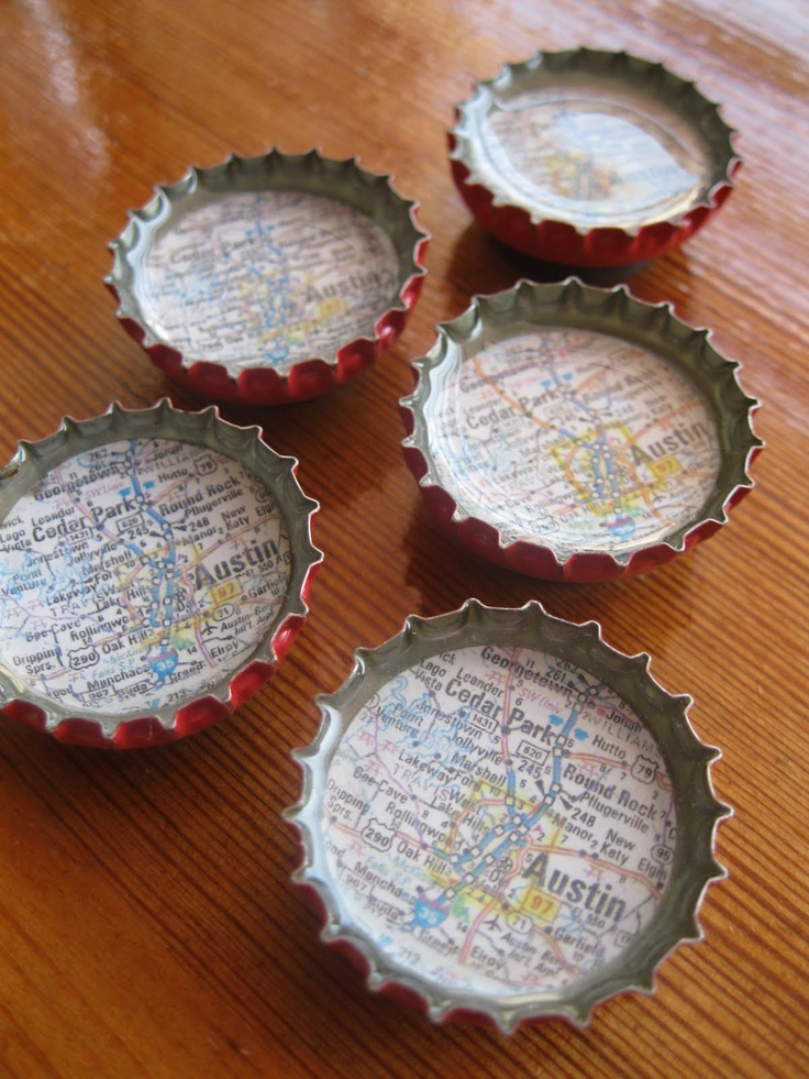 160 best images about diy bottlecaps bottles on pinterest for Crafts to do with beer bottle caps
