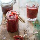 Een heerlijk recept: Rabarber-frambozenjam met kardemom