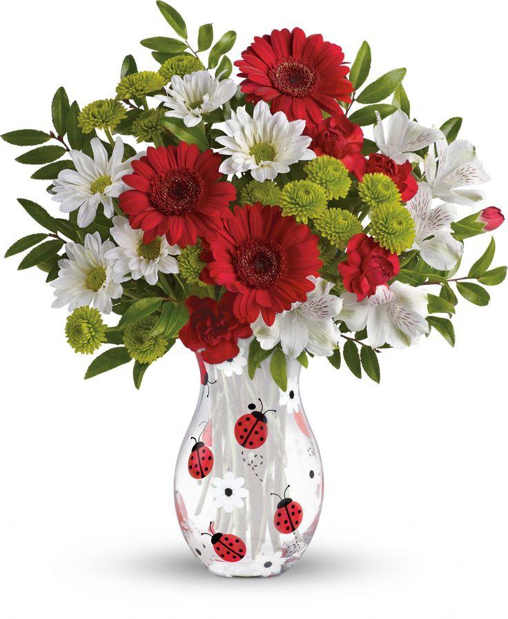 Telefloras Lovely Ladybug Bouquet