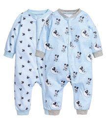 2-pack pyjamas   Ljusblå/Musse Pigg   Barn   H&M SE