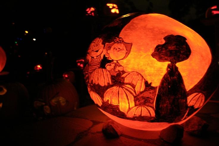 The great pumpkin for Charlie brown pumpkin template
