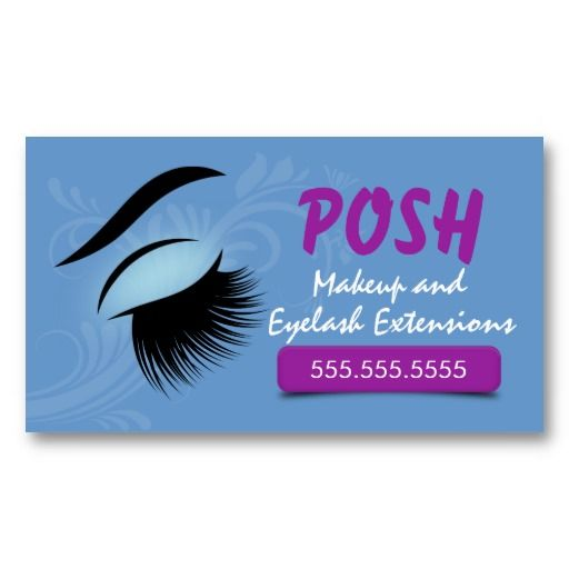 1000 images about eyelash extension business cards on pinterest