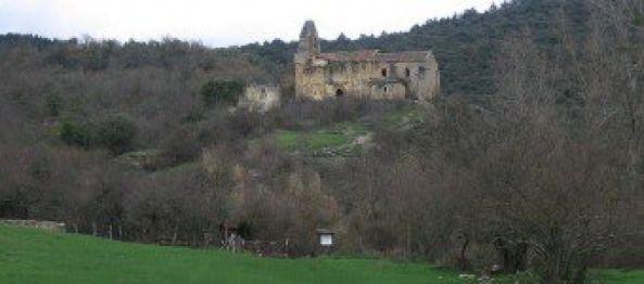 #Ribera. La iglesia #románica de #SanEstebanProtomártir es el único edificio en pie. #Álava vía @patrimonioalava