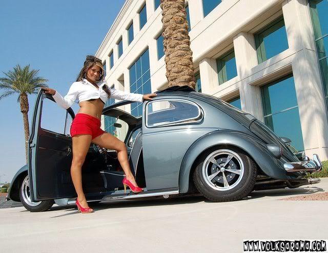 VW Beetle Babe | VW Pin Up | Pinterest | Vw