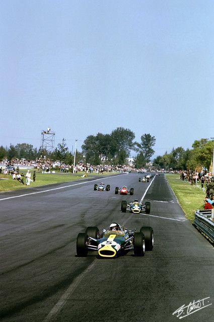 1967 GP Meksyku (J. Clark & G. Hill) Lotus 49 - Ford