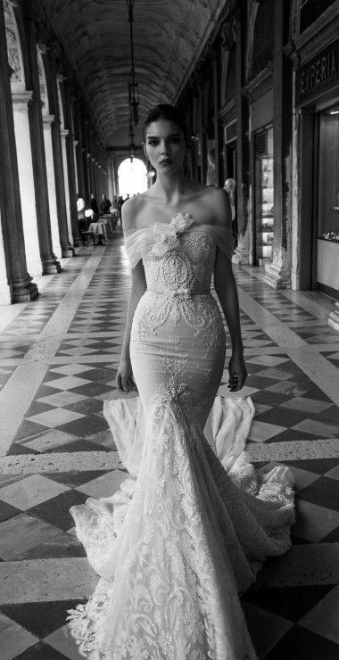Inbal Dror wedding dress at Metal Flaque in Paris, France