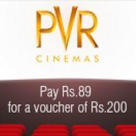 Pvr Cinema Voucher 200 At Rs 89 Offer : Buy Pvr Cinema Voucher 200 At Rs 89 From Little - Best Online Offer