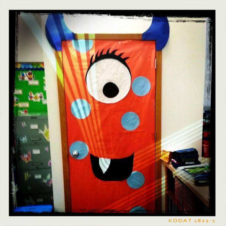soy preescolar decorados para el saln de clase esta puerta parece estar