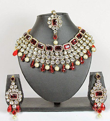 Indian Bollywood Dazzling Red Stone Pearls Kundan Wedding... https://www.amazon.ca/dp/B06XBXN22P/ref=cm_sw_r_pi_dp_x_u4H1yb2EPFKQ6
