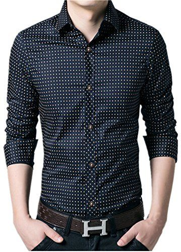 APTRO Men's Cotton Blend Business Long Sleeve Slim Casual Dress Shirt #16 Dark Blue US XS(Tag L) APTRO http://www.amazon.com/dp/B0195ZTGHI/ref=cm_sw_r_pi_dp_f4JAwb1TMGXBB