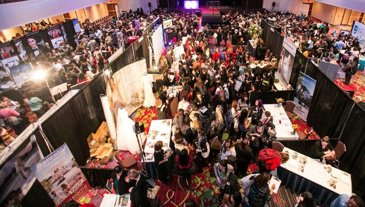 Bridal shows can be overwhelming. Send your bridesmaids instead to sign you up for prizes, get vendor brochures, etc.