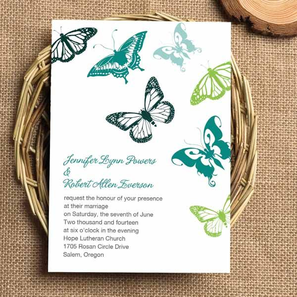 155 best Spring Wedding Invitations images – Butterfly Wedding Invitations Cheap