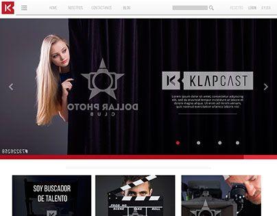 "Check out new work on my @Behance portfolio: ""Diseño web KlapCast"" http://be.net/gallery/32294103/Diseno-web-KlapCast"