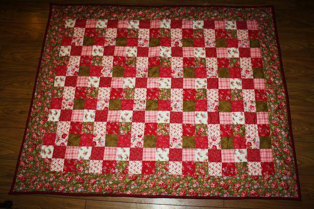 Soo's Creaxions: Granny Square Quilt