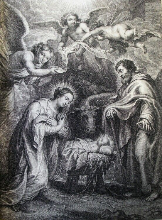 205. The nativity of Jesus. after Rubens