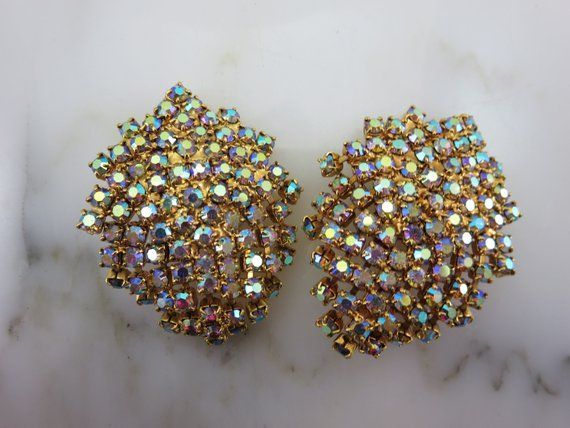 Costume Jewelry Earrings Vintage
