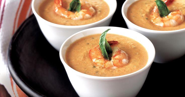 Slow Cooker Cream Shrimp Bisque * *
