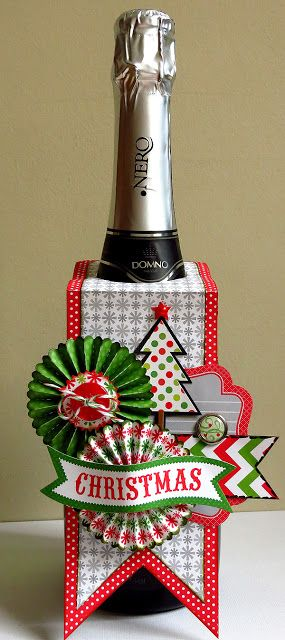 Doodlebug Design Inc Blog: Tuesday Tutorial: Holiday Bottle Tag