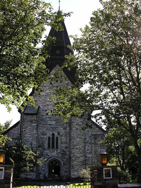 Voss Church,NO: Photo