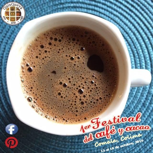 Nos vemos desde el jueves 13 de octubre en el Jardín Principal de Comala. QuisQueya eco-are-café presente en el 1er. Festival del café y cacao 2016. ¡Nos encanta!
