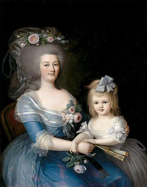 Retrato de Catarina Naudin Arriaga pelo pintor Giuseppe Troni (1739-1810)