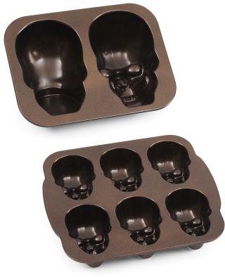 wilton skull pan instructions