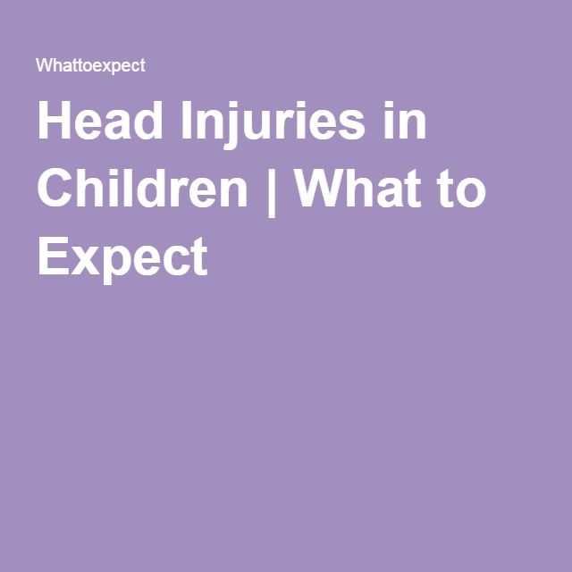 Head Injuries in Children | What to Expect