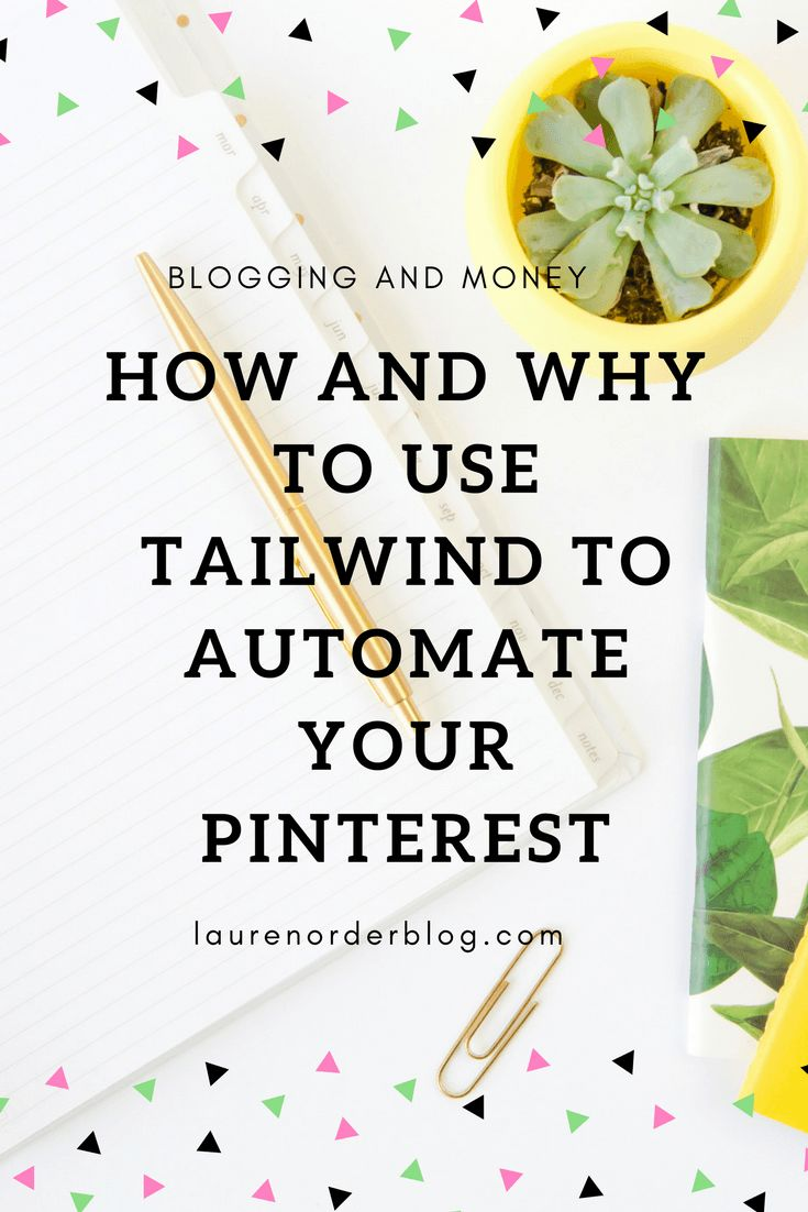 use tailwind for pinterest pinning pins automate