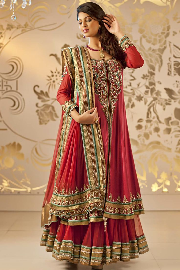 Dresses sarees suits lengha anarkali lehenga pink anarkali lehenga - Satya Paul Suits And Anarkali Dresses Are Extremely Popular With Bollywood Celebrities Checkout Satya Paul S Fashion Week Suits And Other Upcoming Ones