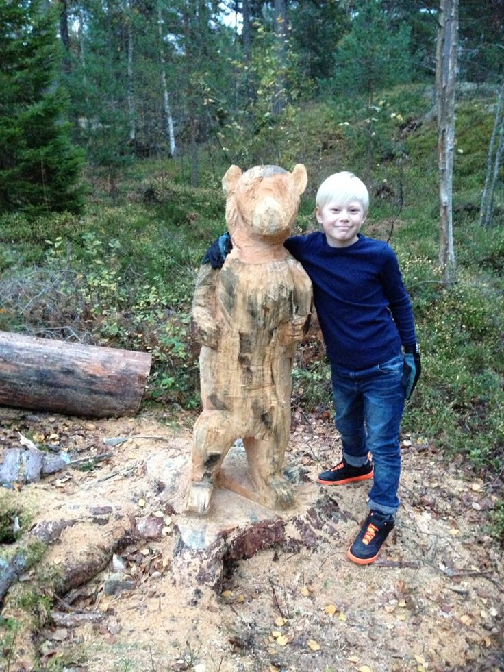 My beautiful son and My fathers work on a tree