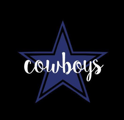 Dallas cowboys decal, Dallas Cowboys Yeti cup decal, yet cup decal, Dallas Cowboys by KMFCustomDesigns on Etsy