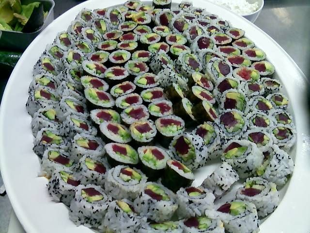 sushi catering in Boston at offersushi