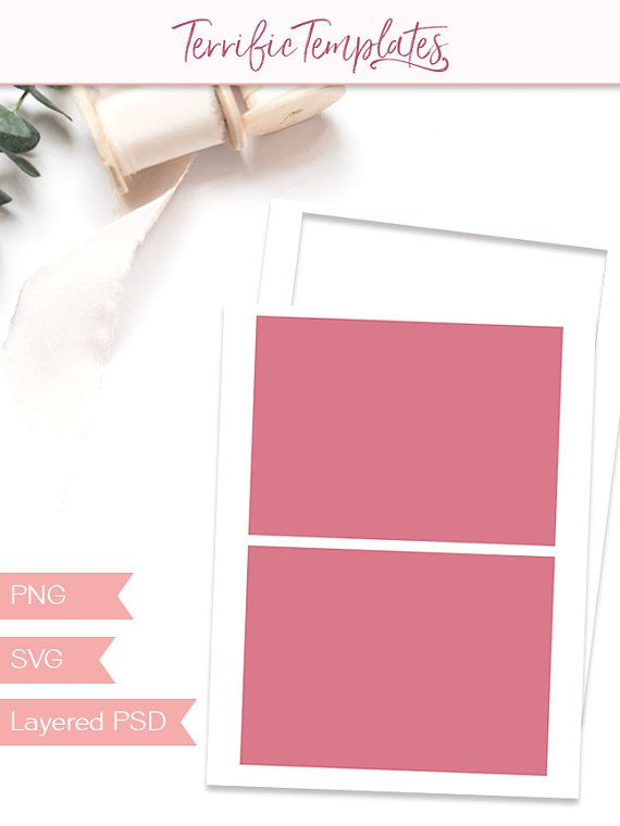 Invite Postcard Template 5x7 Party Printable Craft Template