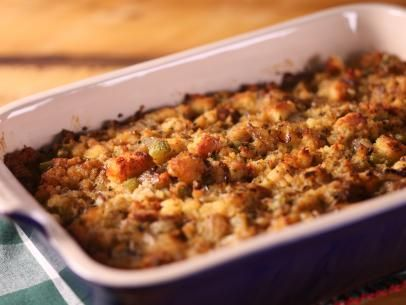 Cornbread Stuffing with Herb Butter Recipe | Katie Lee | Food Network