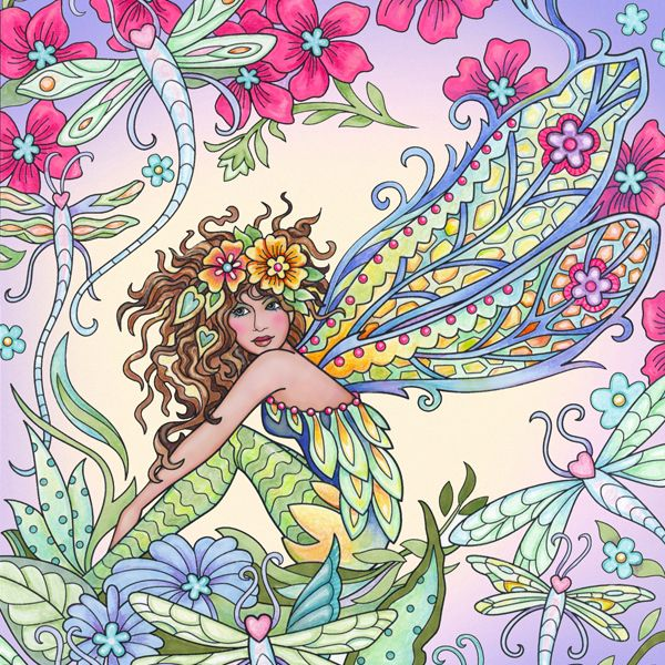 Magical Fairies image by Marjorie Sarnat Design & Illus ...